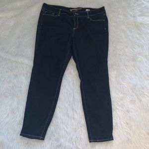 Dark denim super skinny jeans juniors 18 Arizona